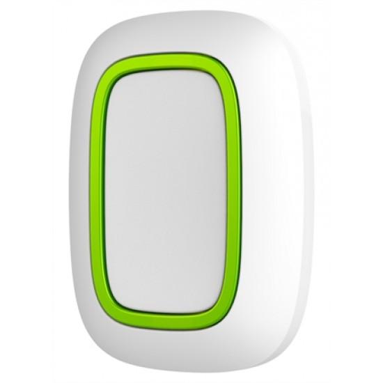 AJAX Button White 10315 - Ασύρματο Κουμπί Πανικού