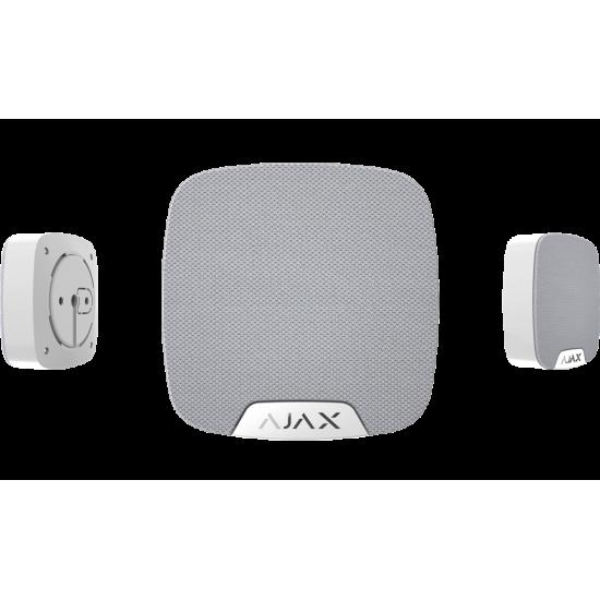 Ajax HomeSiren White 8697 - Ασύρµατη σειρήνα εσωτερικού χώρου