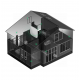 Ajax Hub Black 7559 - Ασύρματη κεντρική μονάδα συναγερμού με διασύνδεση GSM και Ethernet