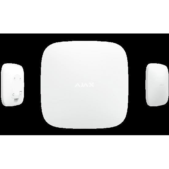 Ajax Hub White 7561 - Ασύρματη κεντρική μονάδα συναγερμού με διασύνδεση GSM και Ethernet