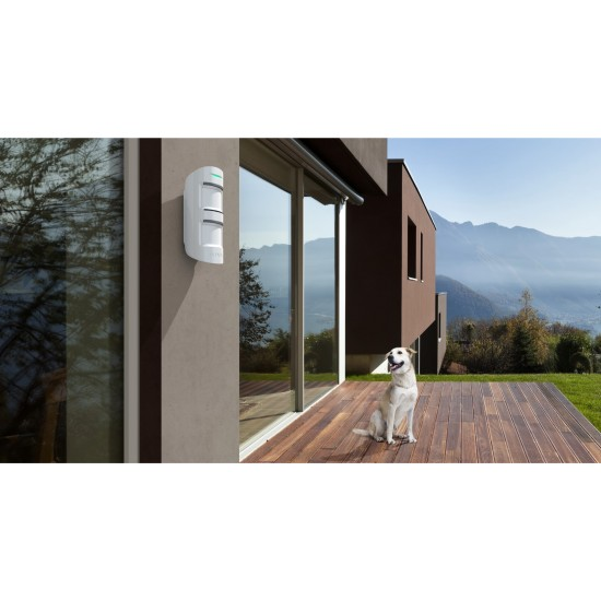 Ajax MotionProtect Outdoor - Ασύρματος εξωτερικός ανιχνευτής κίνησης Radar Διπλός Υπέρυθρος & PET