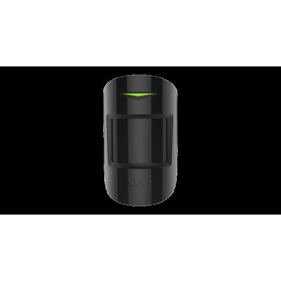 Ajax MotionProtect Plus Black 8220 - Ασύρματος ανιχνευτής κίνησης Radar Υπέρυθρος & Μικροκυματικός & PET