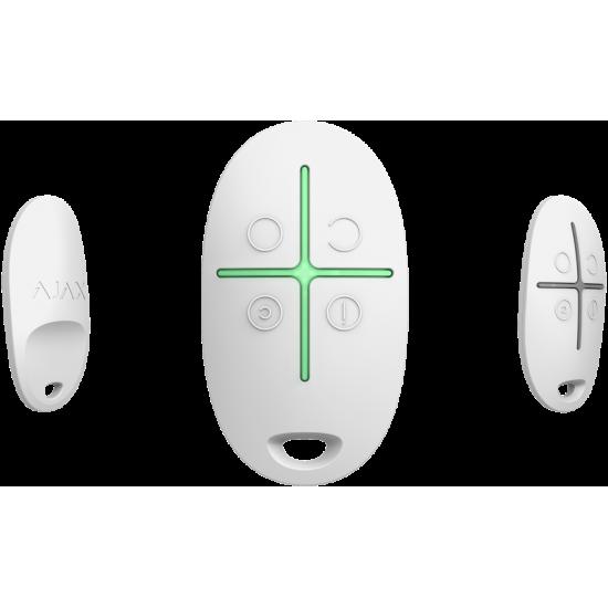 Ajax SpaceControl White 6267 - Τηλεχειριστήριο με 4 πλήκτρα