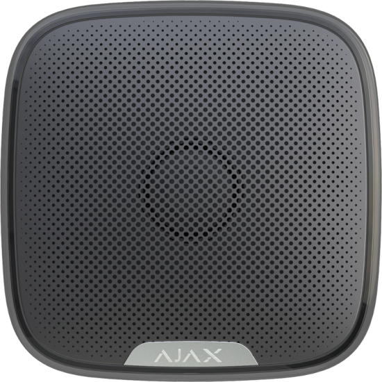 Ajax StreetSiren Black 7661 - Ασύρµατη εξωτερική σειρήνα