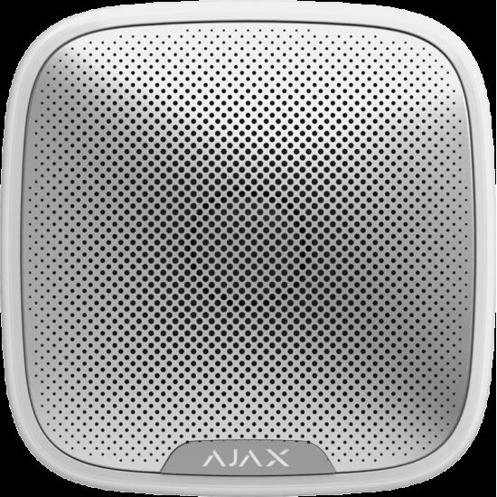 Ajax StreetSiren White 7830 - Ασύρµατη εξωτερική σειρήνα