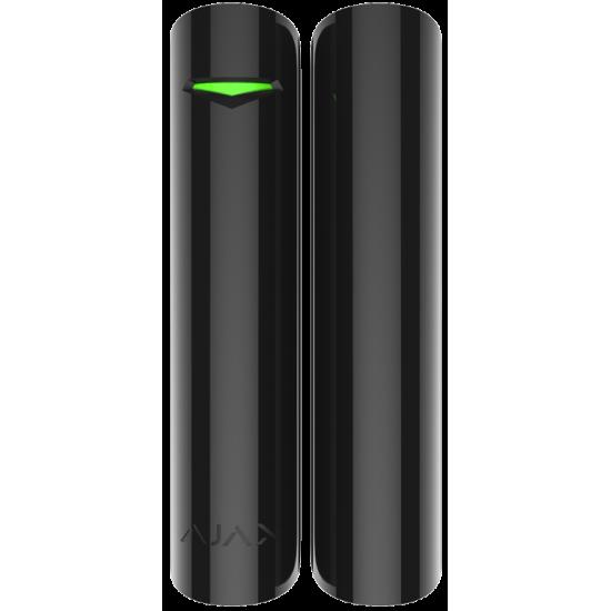 Ajax DoorProtect Plus Black 9996 - Ασύρματη μαγνητική επαφή με αισθητήρα κλίσης και κραδασμών