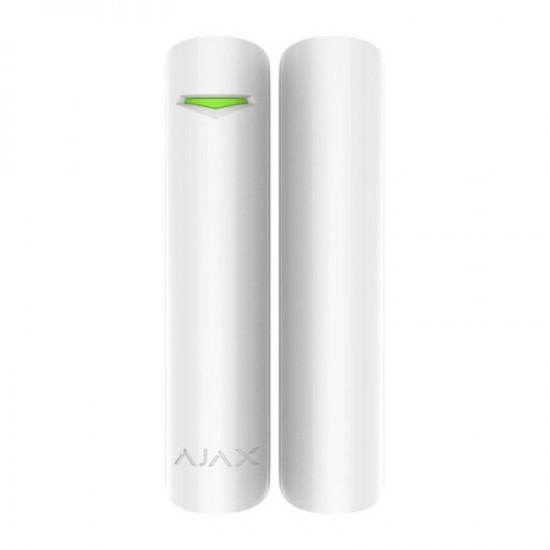 Ajax DoorProtect Plus White 9999 - Ασύρματη μαγνητική επαφή με αισθητήρα κλίσης και κραδασμών