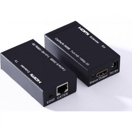 Επέκταση HDMI μέσω UTP καλωδίου μέχρι 30m