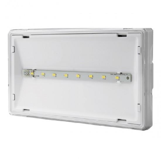 Φωτιστικό Ασφαλείας Επίτοιχο Awex EXIT S IP65