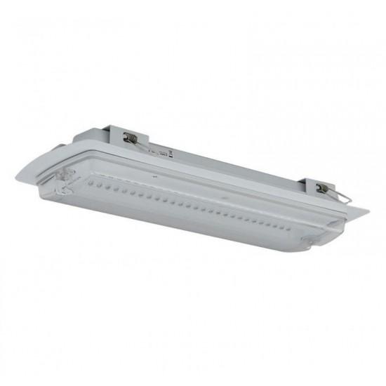 Φωτιστικό Ασφαλείας χωνευτό Ansell Guardian Kit LED