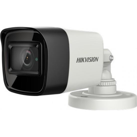 Κάμερα Hikvision DS-2CE16H8T-ITF Bullet HD-TVI/AHD/CVI/CVBS(4 in 1) 5Mpx-2592*1944 - EXIR - 2,8mm