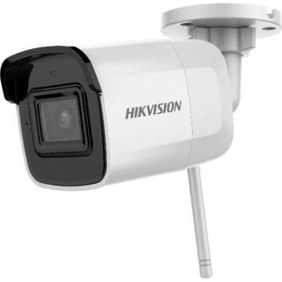 Κάμερα Hikvision DS-2CD2041G1-IDW1 Bullet IP 4Mpx-2560*1440 - H265+ WiFi - Με Ήχο - 2,8mm