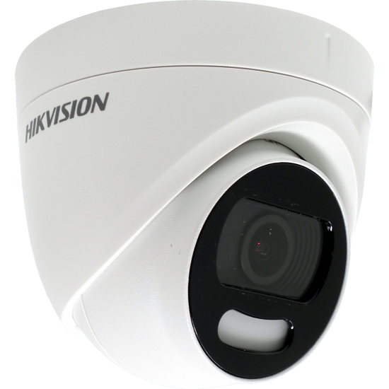 Κάμερα Hikvision DS-2CE72HFT-F Dome HD-TVI/AHD/CVI/CVBS (4 in 1) 5Mpx-2592*1944 - EXIR - ColorVu - Full time color - 3,6mm