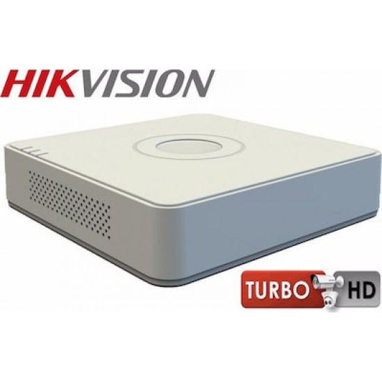 Καταγραφικό - DVR Hikvision DS-7108HGHI-F1 2Mpx 8 Καναλιών ( HD-TVI + IP ) υβριδικό - Pentabrid - H264+