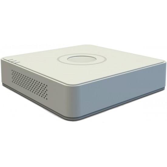 Καταγραφικό - DVR Hikvision DS-7104HGHI-F1 2Mpx 4 Καναλιών ( HD-TVI + IP ) υβριδικό - Pentabrid - H264+