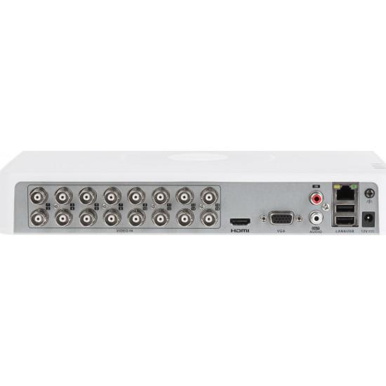 Καταγραφικό - DVR Hikvision DS-7116HGHI-F1 2Mpx 16 Καναλιών ( HD-TVI + IP ) υβριδικό - Pentabrid - H264+