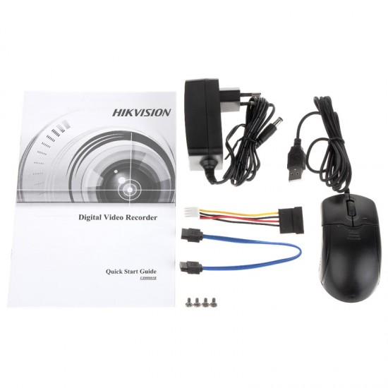Καταγραφικό - DVR Hikvision DS-7116HQHI-K1(S) 4Mpx 16 Καναλιών ( HD-TVI + IP ) υβριδικό - Pentabrid - H265Pro+