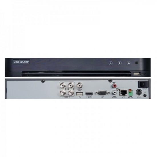 Καταγραφικό - DVR Hikvision DS-7204HQHI-K1 4Mpx 4 Καναλιών ( HD-TVI + IP ) υβριδικό - Pentabrid - H265Pro+