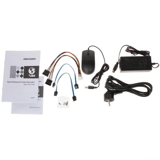 Καταγραφικό - DVR Hikvision DS-7208HTHI-K2 8Mpx 8 Καναλιών ( HD-TVI + IP ) υβριδικό - Pentabrid - H265Pro+