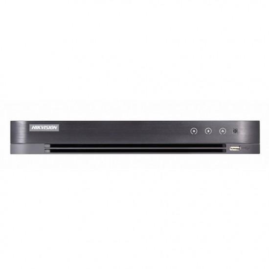 Καταγραφικό - DVR Hikvision DS-7216HQHI-K2/16A16 Καναλιών ( HD-TVI + IP ) υβριδικό - Pentabrid - H265Pro+ 16 Ήχους