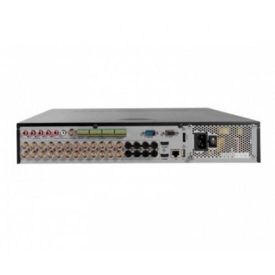 Καταγραφικό - DVR Hikvision DS-7324HQHI-K4 4Mpx 24 Καναλιών ( HD-TVI + IP ) υβριδικό - Pentabrid - H265Pro+