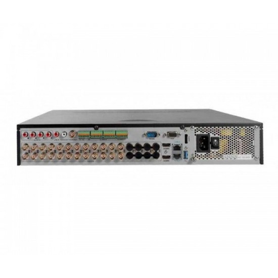 Καταγραφικό - DVR Hikvision DS-7324HUHI-K4 8Mpx 24 Καναλιών ( HD-TVI + IP ) υβριδικό - Pentabrid - H265Pro+
