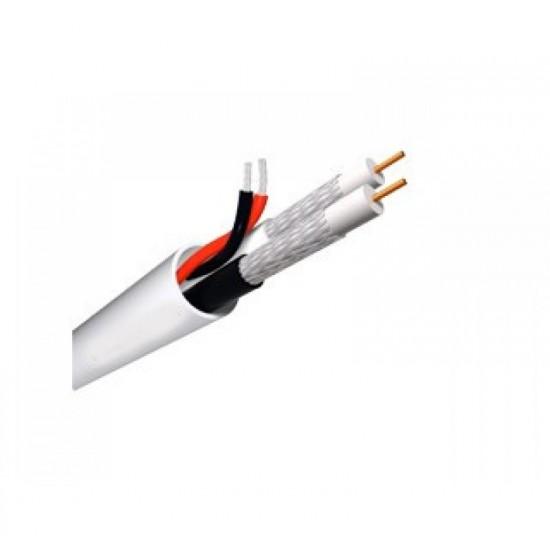 Καλώδιο CCTV τύπου mini RG 59 - Διπλό Ομοαξωνικό + Τροφοδοσία