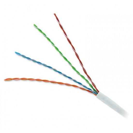 Καλώδιο Δικτύου UTP Cat5e Λευκό