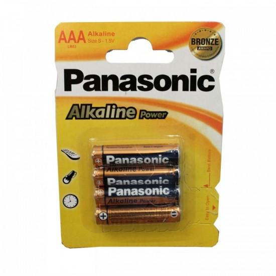 Μπαταρία αλκαλική Panasonic LR03 3A