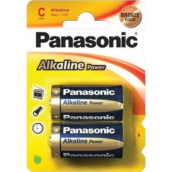 Μπαταρία αλκαλική Panasonic LR14 τύπου C
