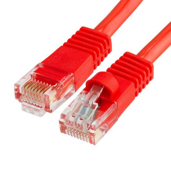 Καλώδιο Δικτύου - Patch cord 0,5m UTP Cat6 Κόκκινο