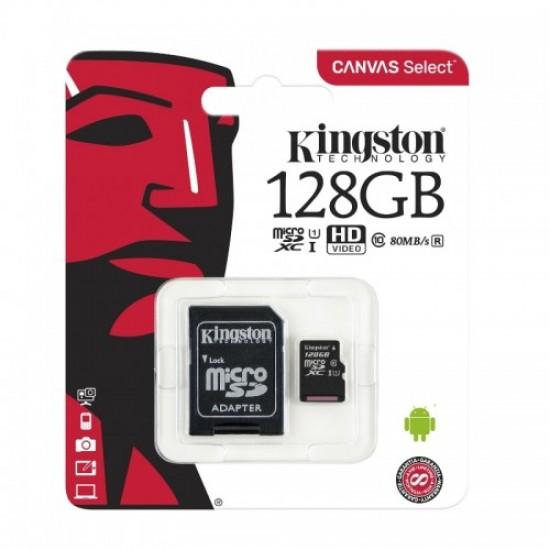 Κάρτα μνήμης Kingston MICRO SDCS 128GB