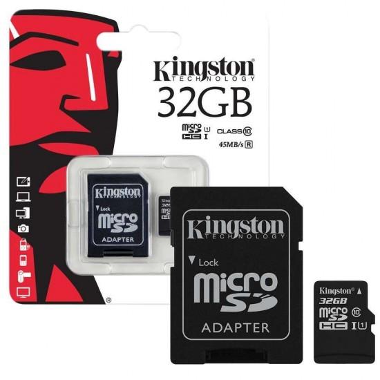 Κάρτα μνήμης Kingston MICRO SDHC 32GB