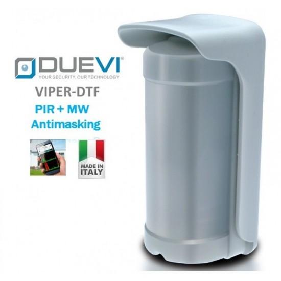 Ανιχνευτής Κίνησης - Radar Διπλής Τεχνολογίας ( Υπέρυθρο + Μικροκυματικό ) Duevi Viper DTF με antimasking