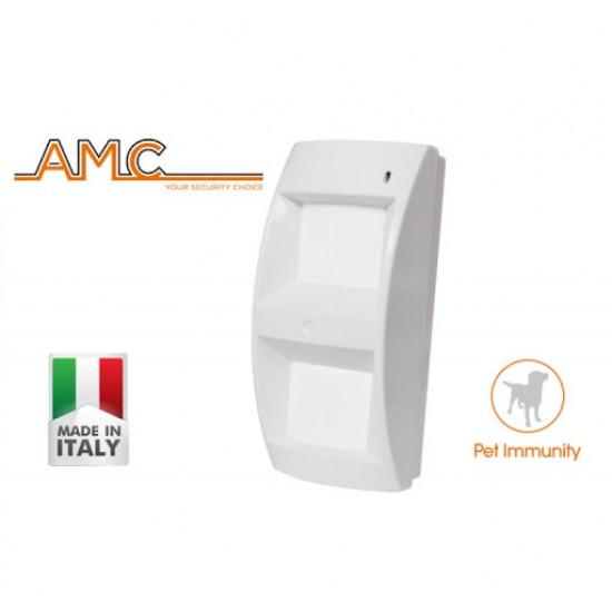 Ανιχνευτής κίνησης Τριπλής Τεχνολογίας ( 2 Διπλά Υπέρυθρα + Μικροκυματικό ) Amc SoutDoor-T με antimasking