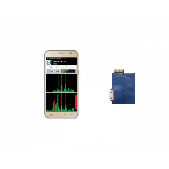 Bluetooth σύνδεσης κινητού με application View Sensor για ανιχνευτές Duevi BT-LINK-S