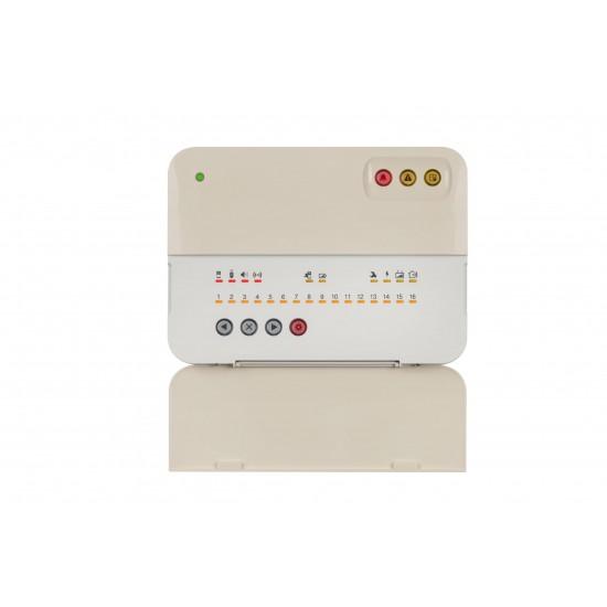 Πακέτο ασύρματου συναγερμού επεκτάσιμο - Bravo Starter Kit 008 LAN - Συναγερμός σπιτιού ασύρματος - Επικοινωνία μέσω LAN