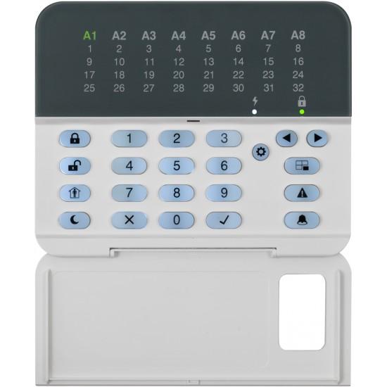 Σετ Πίνακας Συναγερμού Teletek Eclipse32 και Πληκτρολόγιο Teletek Eclipse LED32.Υποστηρίζει 32 ζώνες