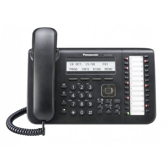 Ψηφιακή τηλεφωνική συσκευή IP Panasonic KX-NT543-B