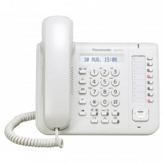 Ψηφιακή τηλεφωνική συσκευή IP Panasonic KX-NT551-W